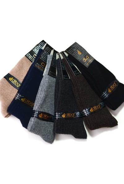 Diba 6 Adet Lambswool Yün Kışlık Erkek Çorap