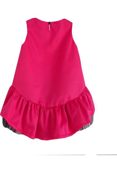 Shecco Babba Kız Çocuk Tütü Elbise Fuşya 5-8 Yaş