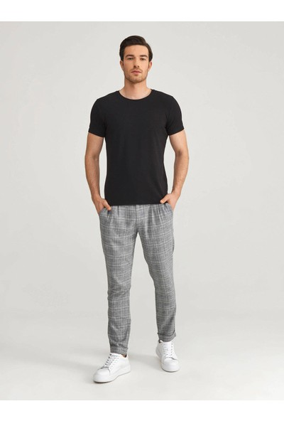 Xint Bisiklet Yaka Modal Slim Fit Basic T-Shirt
