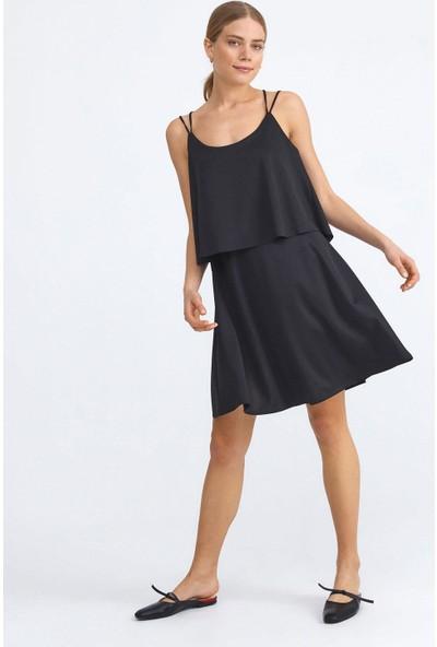 Xint Rahat Kesim İp Askılı Elbise