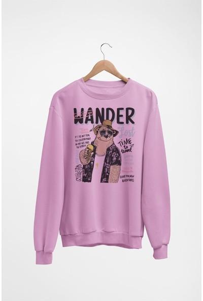 Angemiel Wear Wander Tatilci Kadın Sweatshirt