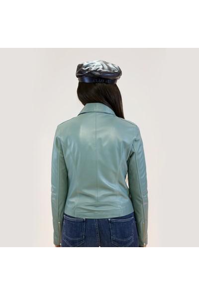 Bilgin's Rust Azur Deri Ceket
