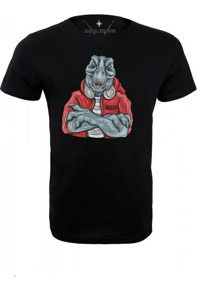 Angemiel Wear Güçlü Trex Pamuklu Erkek T-Shirt