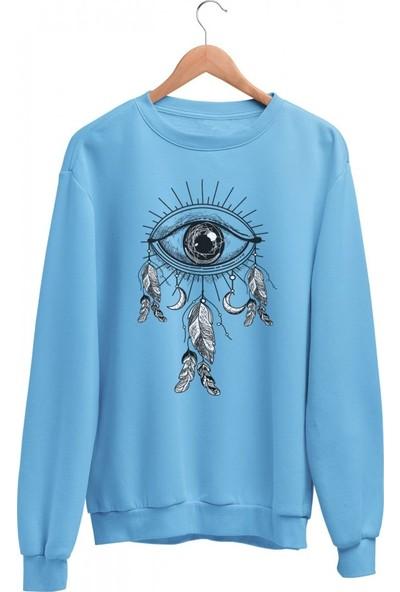 Angemiel Wear Göz Rüya Kapanı Kadın Sweatshirt