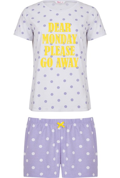 Penti Çok Renkli Monday Pijama Takımı