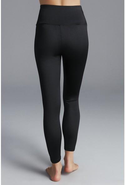 Penti Siyah Shiny Legging Tayt