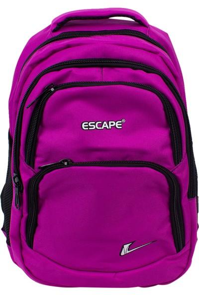 Escape 333 Laptop Bölmeli Okul Sırt Çantası Mor