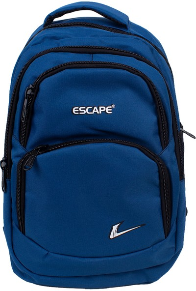 Escape 333 Laptop Bölmeli Okul Sırt Çantası Mavi