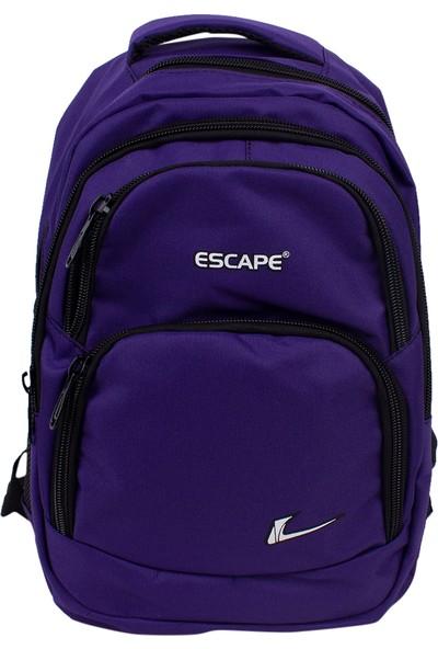 Escape 333 Laptop Bölmeli Okul Sırt Çantası Lacivert
