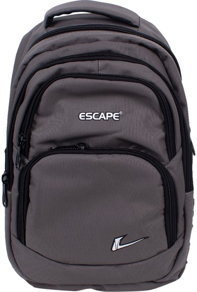 Escape 333 Laptop Bölmeli Okul Sırt Çantası Gri