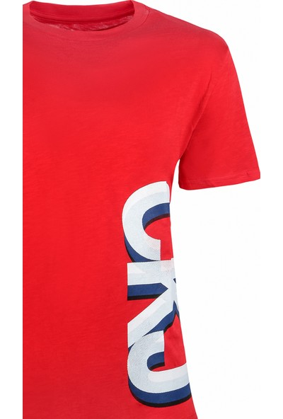 Calvin Klein Erkek T-Shirt 41L7607-645