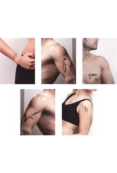 One Spray Tattoo One Spray Tattoo Vites Keleş Desenleri Hint Kınası ile Geçici Dövme Yapma Seti