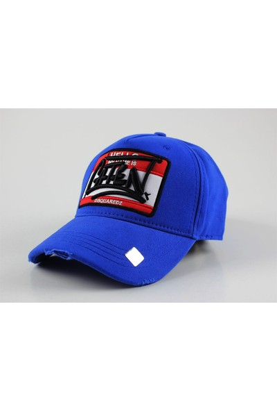 Soydance DSQ2 Caten Şapka Saks Mavi