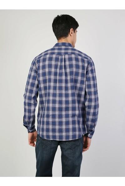 Colin's Mavi Uzun Kollu Gömlek