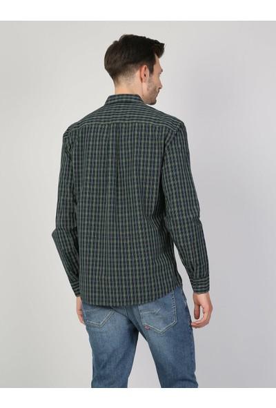 Colin's Yeşil Uzun Kollu Gömlek