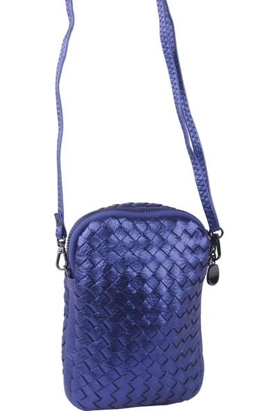 Queen Elizabeth Kadın Çapraz Askılı Çanta Mavi 236026-03