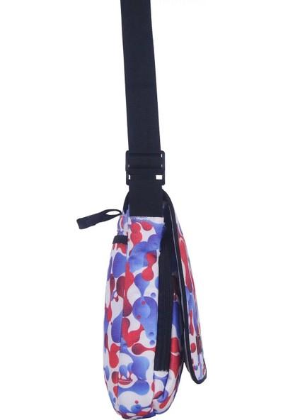 Pug Çapraz Askılı Postacı Çanta Desenli Çok Renkli 38