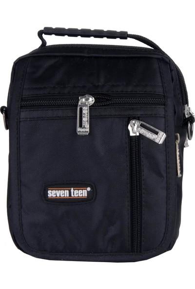 Seven Teen Erkek Çapraz Askılı Çanta Siyah 2248