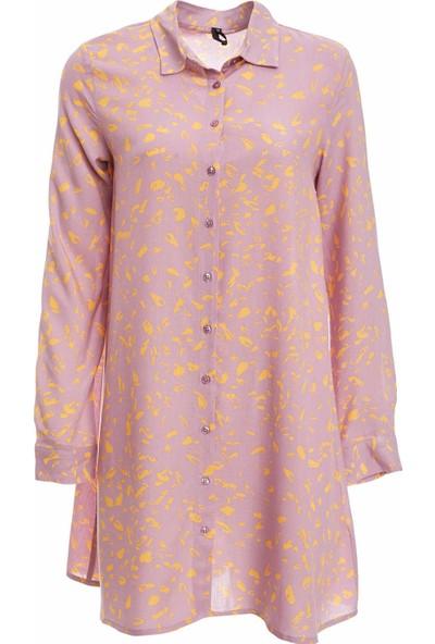 DeFacto Kadın Uzun Kollu Gömlek Tunik