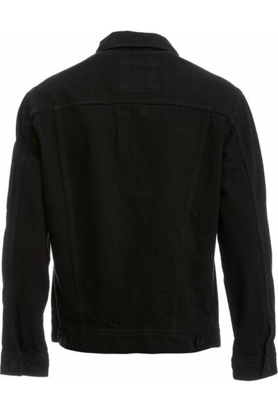 DeFacto Erkek Şerit Detaylı Slim Fit Jean Ceket