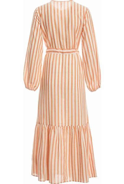 DeFacto Kadın Relax Fit Dokuma Elbise