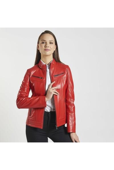 Desa Connor Kadın Deri Ceket