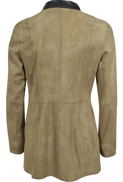 Desa Pietra Kadın Süet Ceket