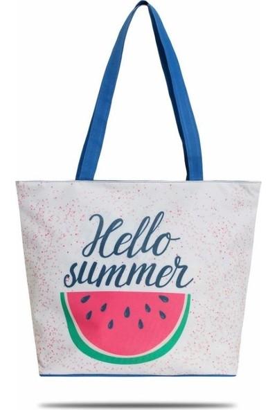 Gnc Design Hello Summer Plaj Çantası