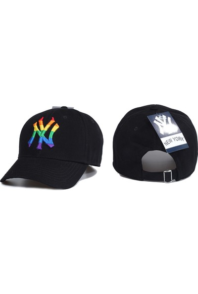 Capstories New York Yankees Şapka Renkli Ny Logolu