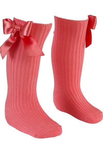 Bebeğime Çorap Fiyoklu Dizaltı Çorap Çocuk