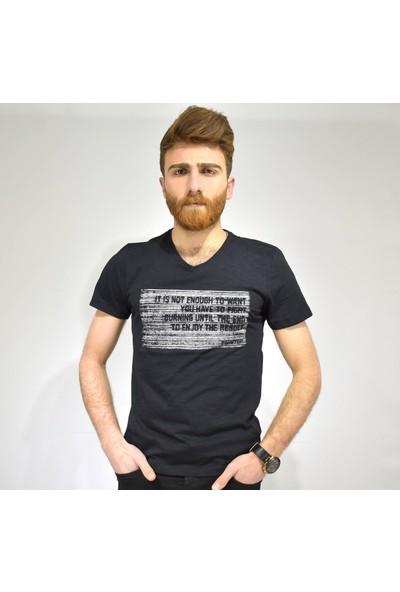 Twister Bisiklet Yaka Erkek T-Shirt