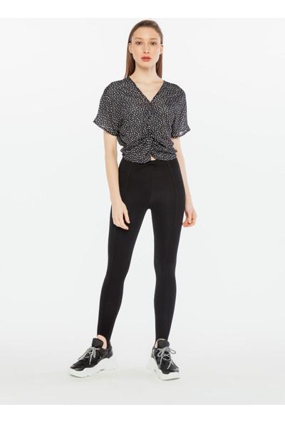 Yellowish Kadın Önü Büzgü Detaylı Bluz S