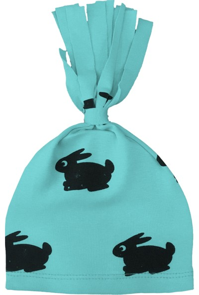 By Leyal For Kids Unisex Bebek Tavşan Detaylı Penye Şapka