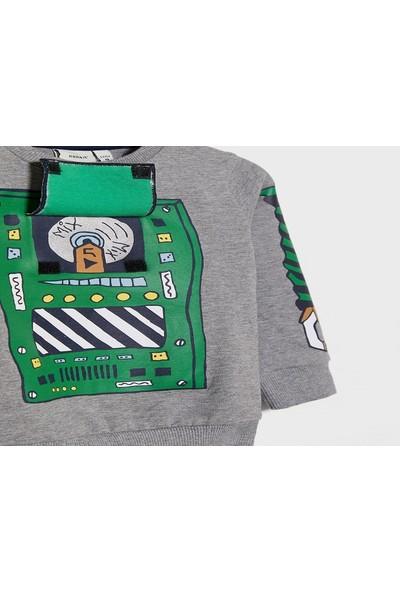 Name İt Organic Graphic Sweatshirt