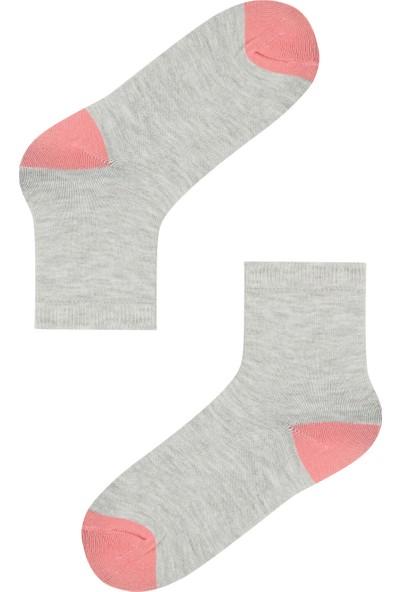 Penti Çok Renkli Kız Çocuk Mini 4lü Soket Çorabı