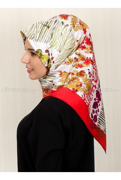 Silk Home %100 Twill Ipek Eşarp İl10420-11
