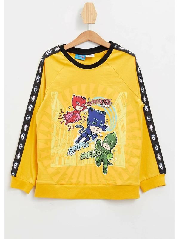 DeFacto Erkek Çocuk PJ Masks Lisanslı Şekil Değiştiren Sweatshirt N2385A620SP