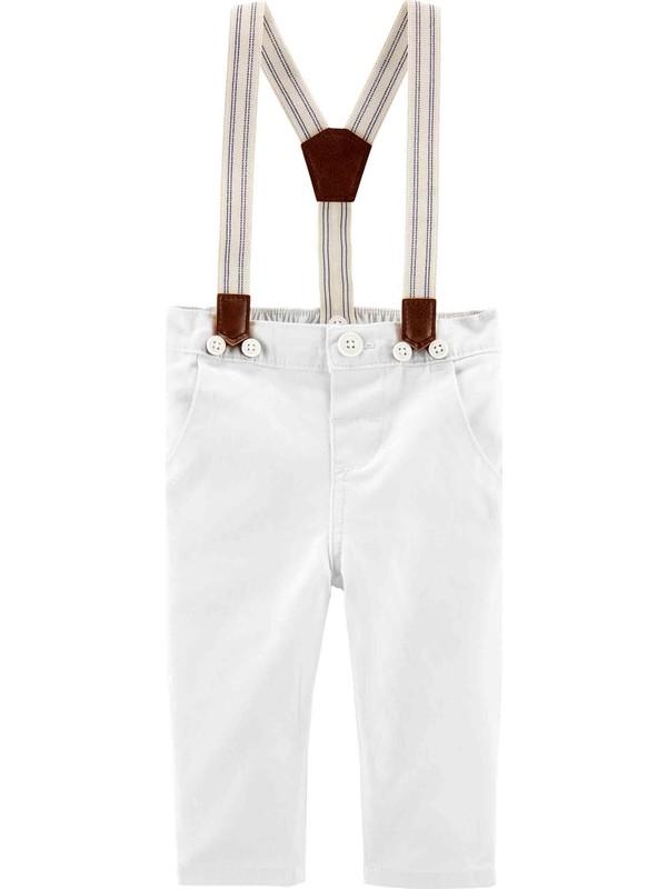 Oshkosh Erkek Bebek Askılı Pantolon 1H272712