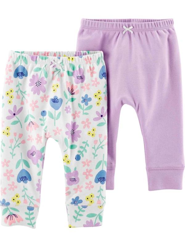 Carter's Layette Kız Bebek 2'li Pantolon 1H452610