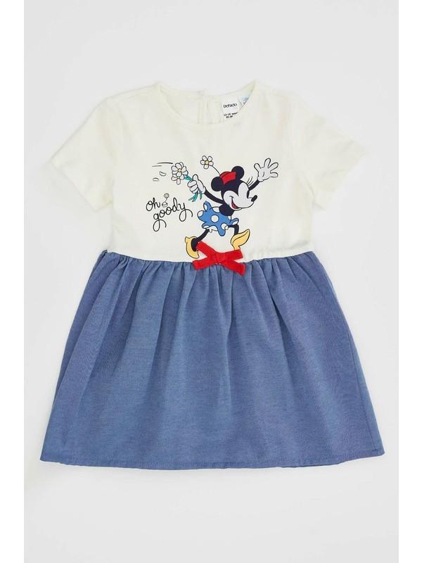 DeFacto Kız Bebek Mickey Mouse Lisanslı Elbise N5535A220SP