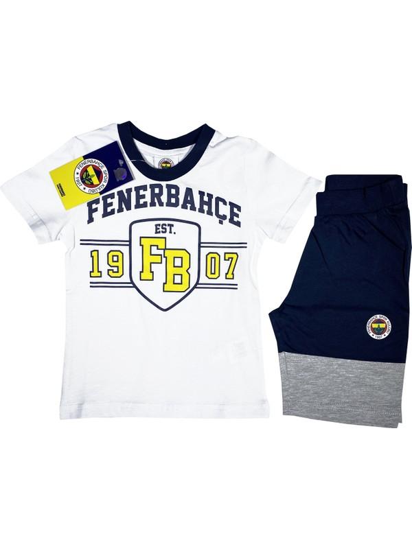Fenerium Fenerbahçe T-Shirt Takım (2-7 Yaş) Lisanslı - FB2154