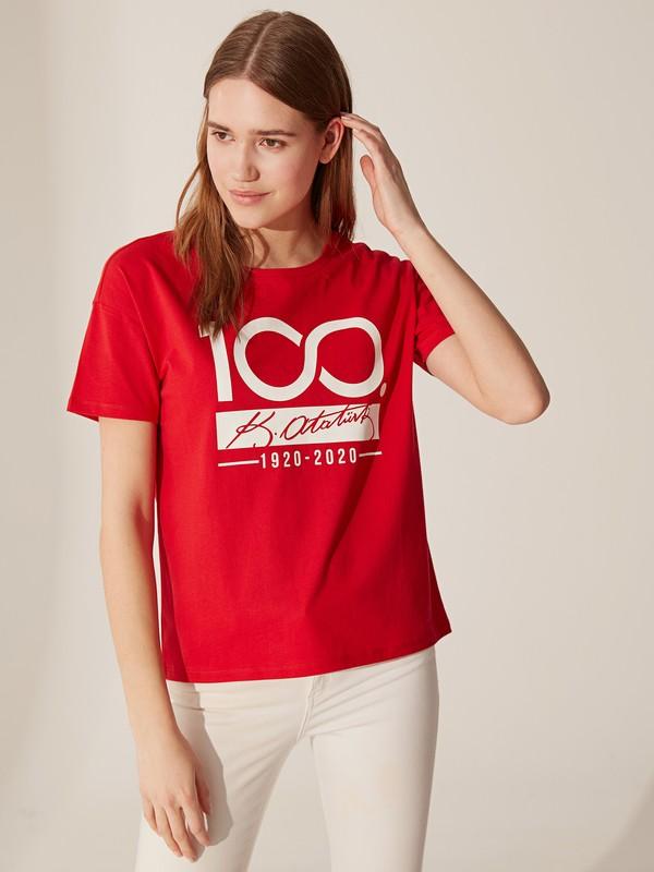 LC Waikiki Bisiklet Yaka Kadın T-Shirt