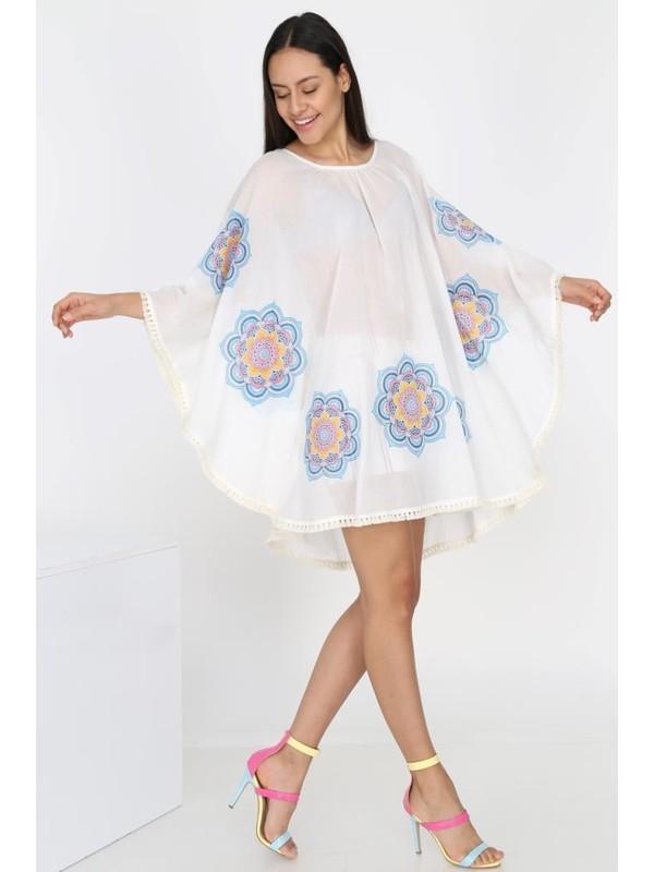 Uzman Tekstil Otantik Buldan Bezi&şile Bezi Mandala Pareo