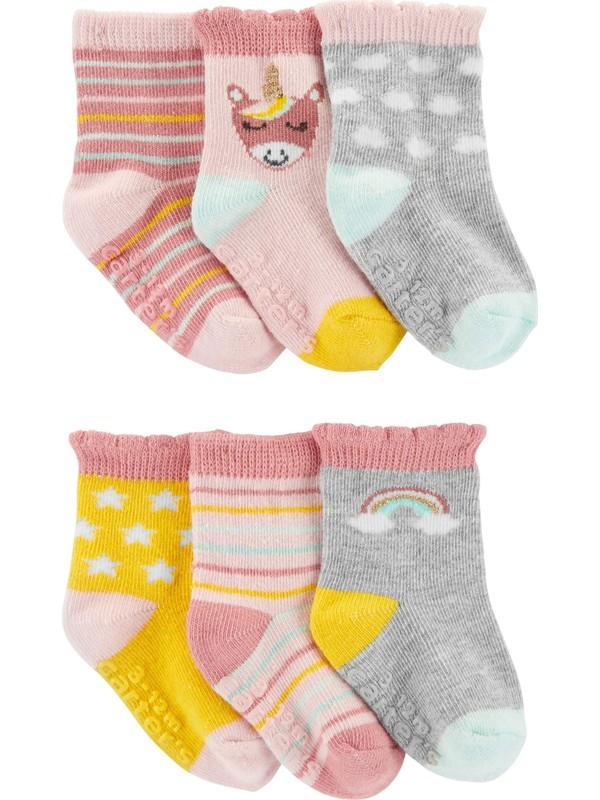 Carter's Kız Bebek 6'lı Çorap CR05578