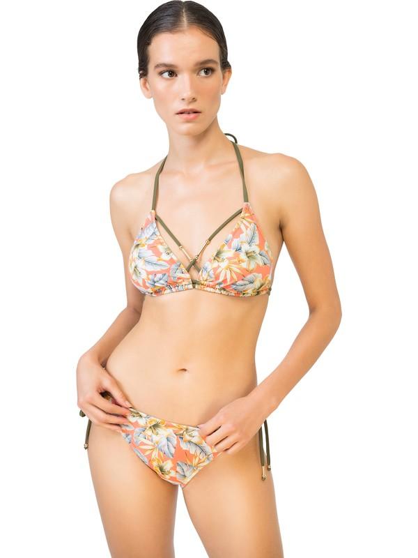 Bonesta Swimwear Boru Boncuk Aksesuarlı Üçgen Bikini