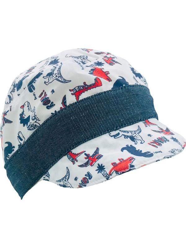 Capps Erkek Bebek Güneş Şapkası Dinozor