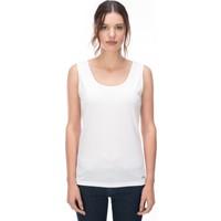 Galvanni Kadın Beyaz T-Shirt - Dımıt