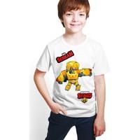 Brawl Stars - Bo - Dijital Baskılı Beyaz Kişiye Özel T-Shirt E-04