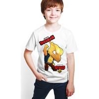Brawl Stars - Crow - Dijital Baskılı Beyaz Kişiye Özel T-Shirt E-03