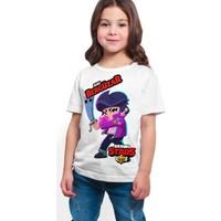 Brawl Stars - Bibi - Dijital Baskılı Beyaz Kişiye Özel T-Shirt K-02